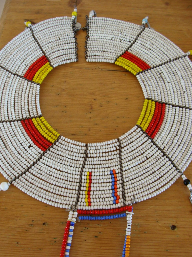 Beaded Maasai necklace