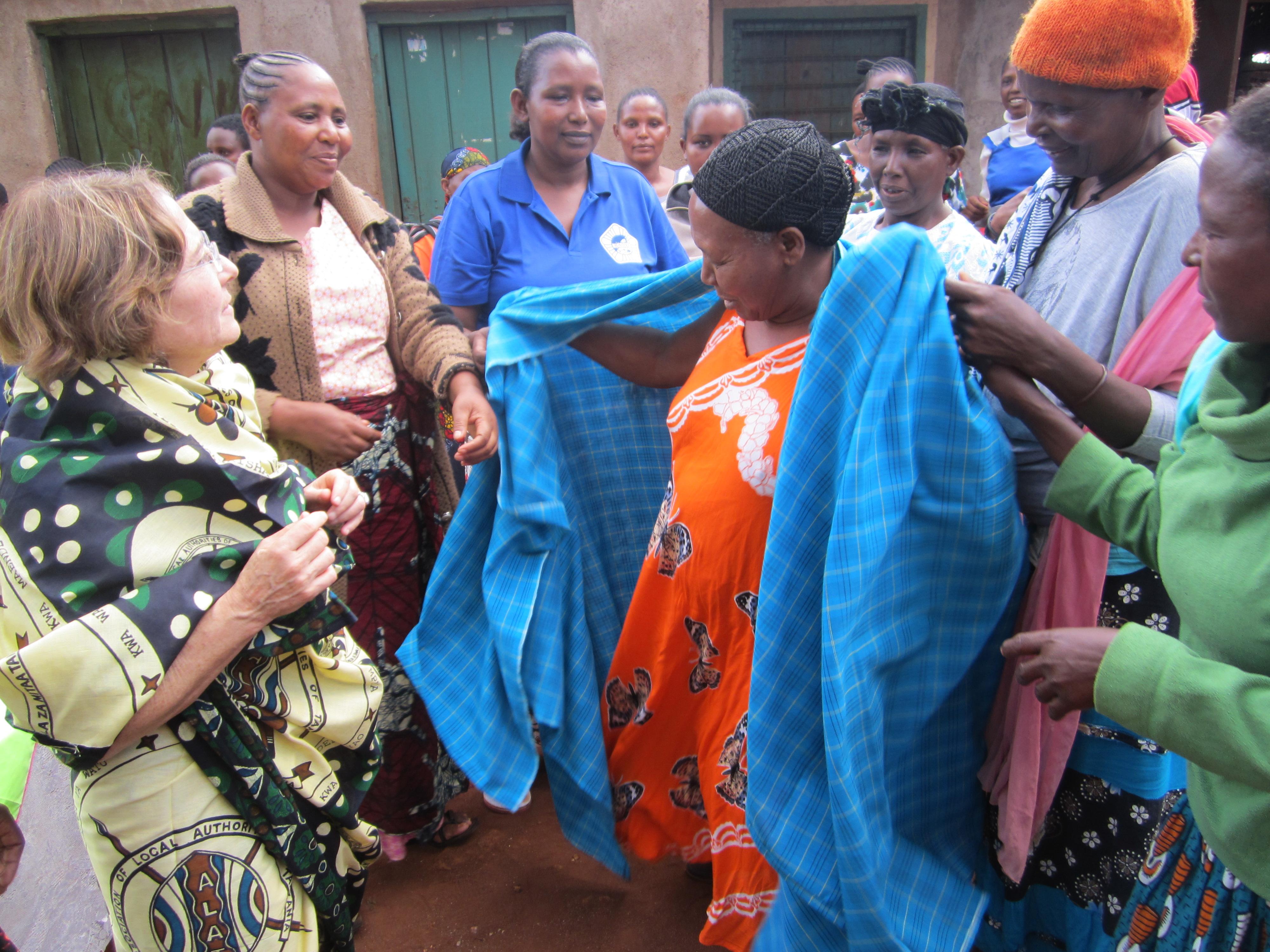 Maasai partners retirement party